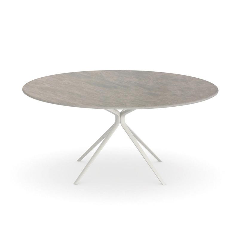 Fast Moai Tisch Ø 140 cm mit Steinplatte